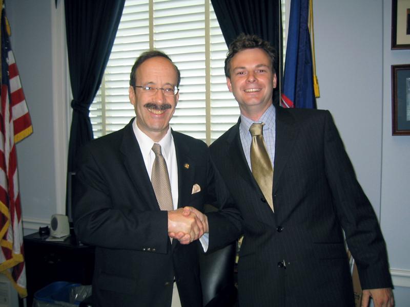 Amerikaans senator Eliot Engel