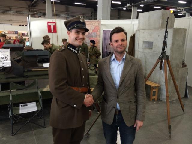 Handshake soldaat