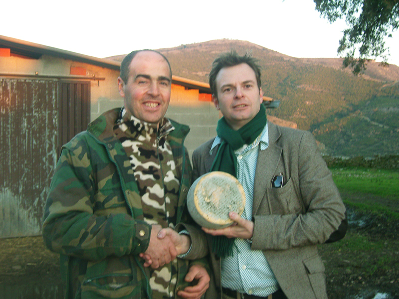 Siciliaanse kaasboer