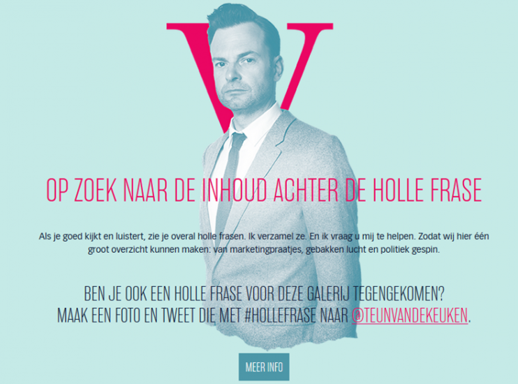 Website vol Holle Frasen