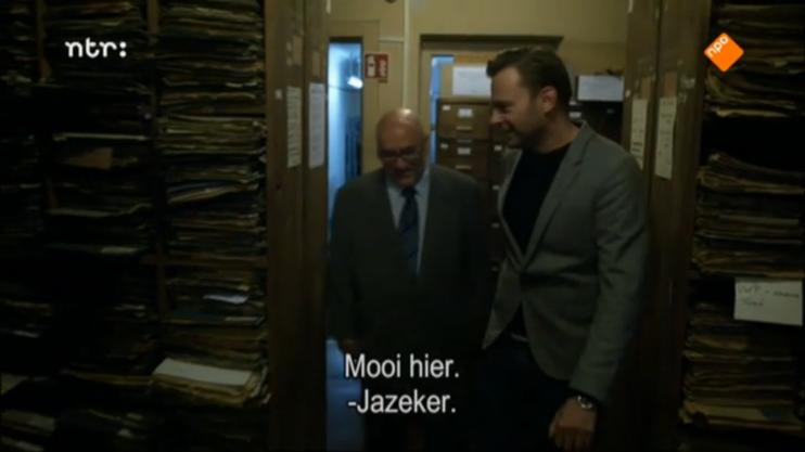 Still uit de aflevering Verborgen Verleden met Teun van de Keuken, hier op bezoek in Polen.