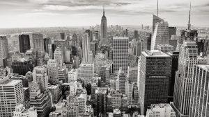 Het echte Manhattan, New York.