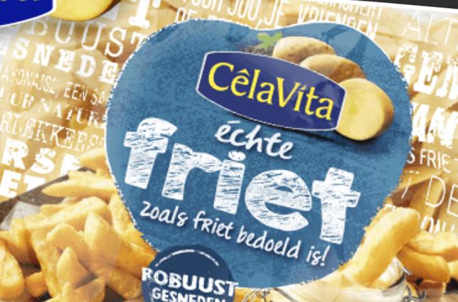 De échte friet van CelaVita.