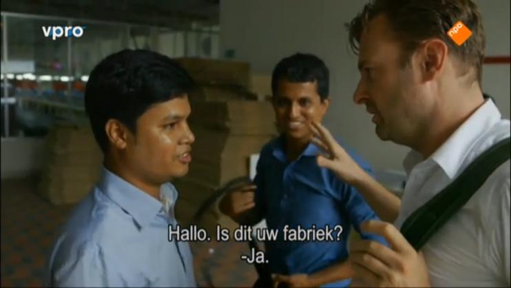 Still uit de driedelige documentaireserie Slag om de klerewereld.