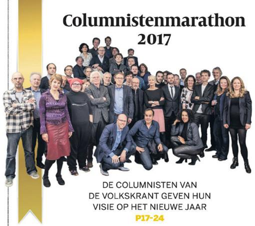 Columnistenmarathon 2017 Volkskrant
