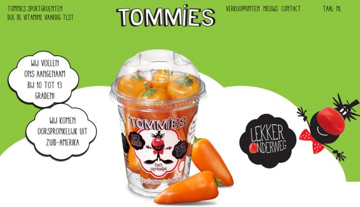 Tommies Pratende Paprika's