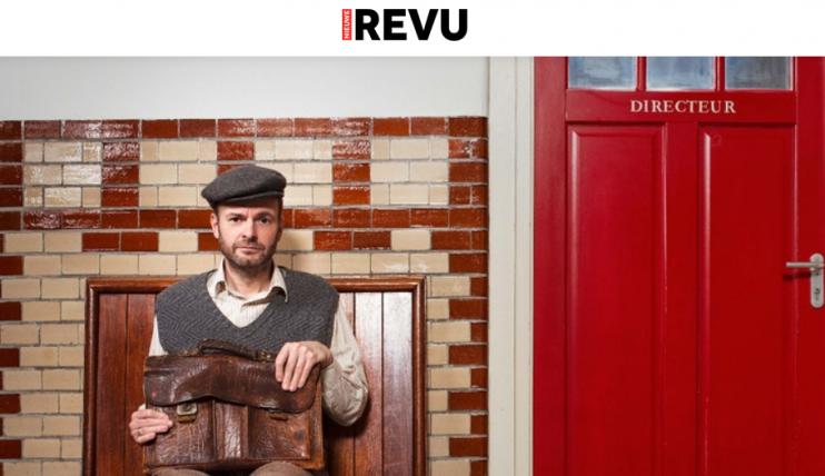 Teun van de Keuken: interview in Nieuwe Revu