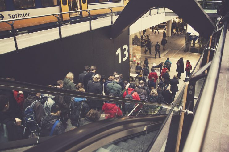 NS Sprinter Rotterdam Station