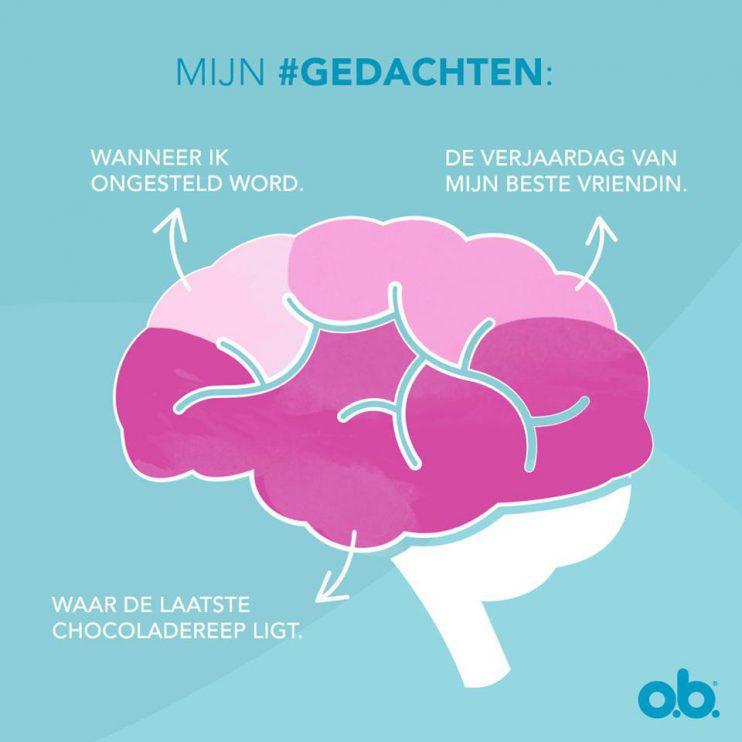 De roze hersens van vrouwen, volgens O.B.