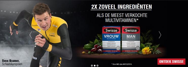 Swisse vitaminen Sven Kramer