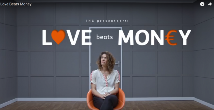 Love Beats Money ING column Teun van de Keuken