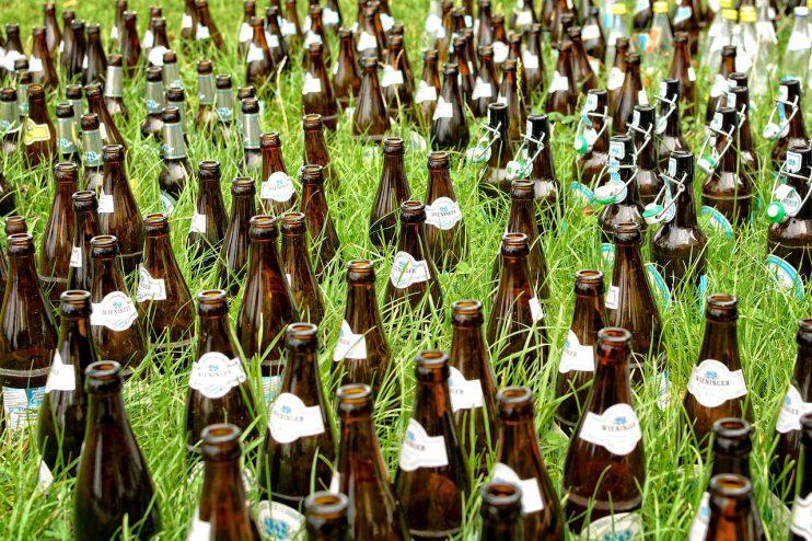 Bier natuur gras