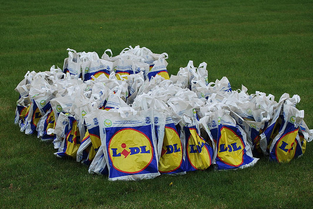 Lidl plastic tasjes CC-foto Peter Mooney