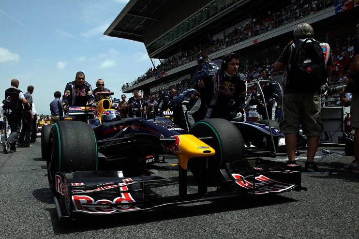 Red Bull racing formule