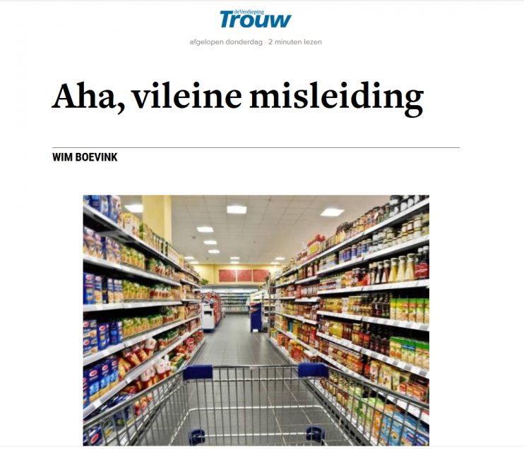 Trouw Wim Boevink De Supermarktsurvivalgids