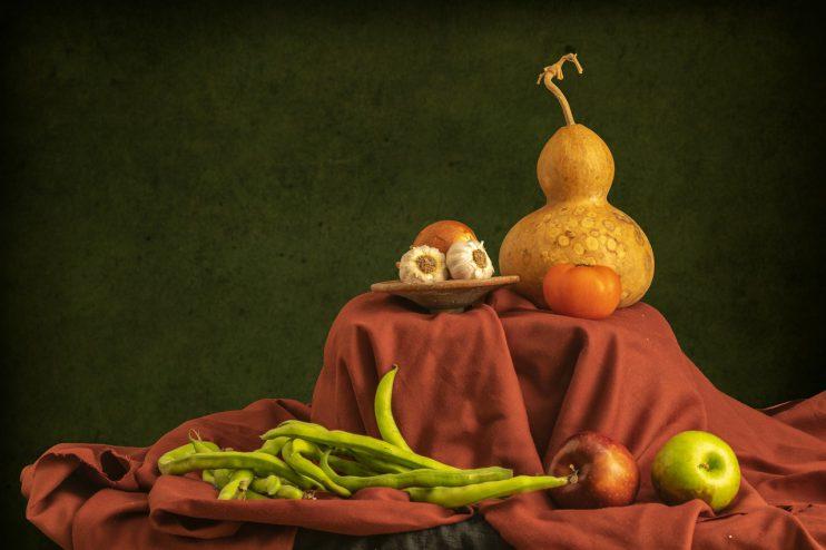 groente fruit stilleven