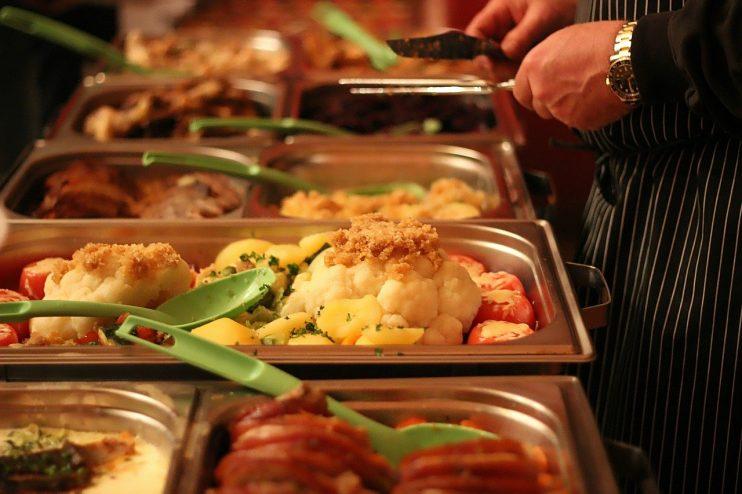 Buffet diner eten