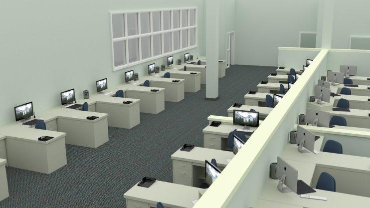 kantoortuin kantoor