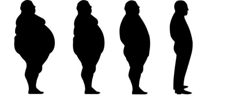 man gewicht overgewicht corona