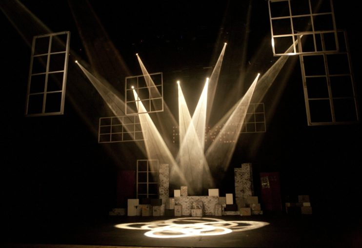 cultuur theater licht leeg corona