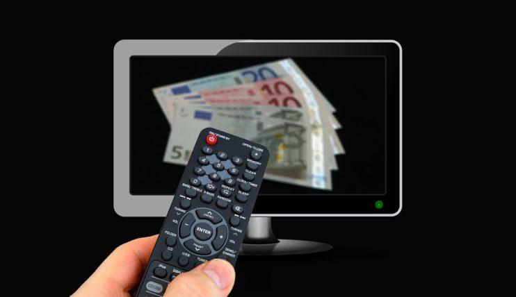 televisie afsstandsbediening