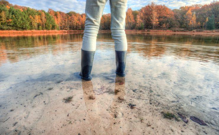 Vakantie Nederland meer laarzen