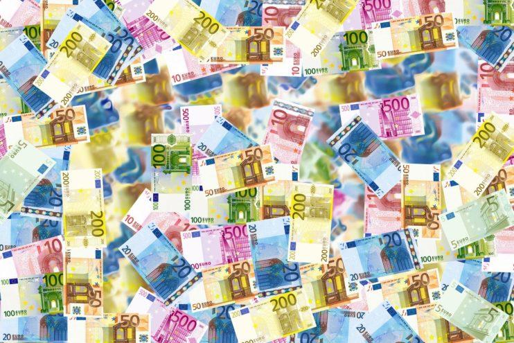 geld euro biljetten kapitalisme