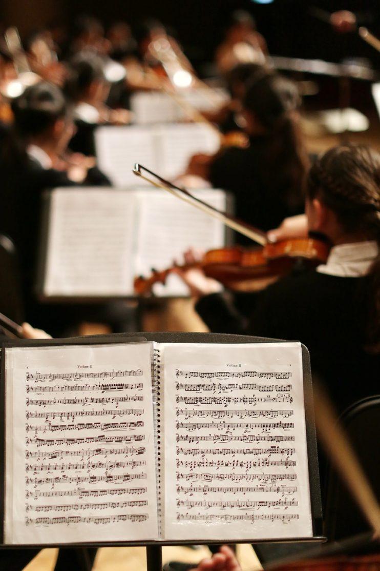 orkest schoonheid partituur
