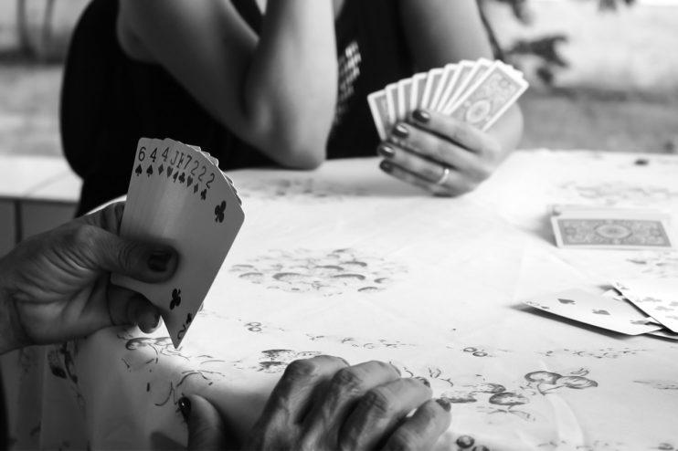kaarten kaartspel familie
