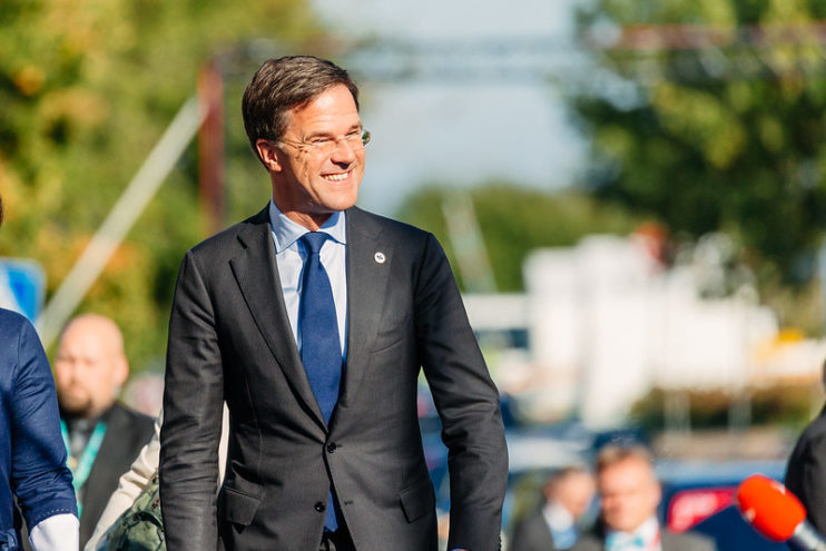 Mark Rutte in Tallinn, Estland, CC EU2017EE Estonian Presidency