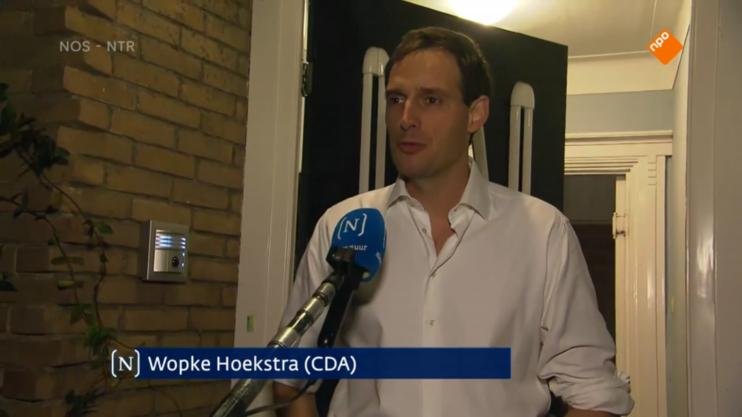 Wopke Hoekstra CDA Nieuwsuur 11 december