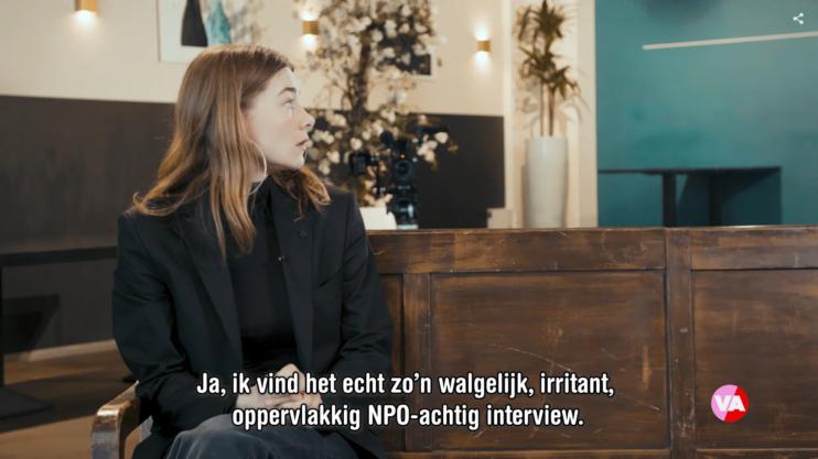 Thierry Baudet Emma Wortelboer Motie van Vertrouwen De Vooravond Oppervlakkig