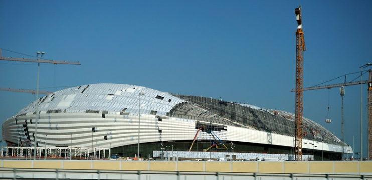 Voetbalstadion Qatar WK 2022 Al-Janoub, Al-Wakrah CC Matt Kieffer