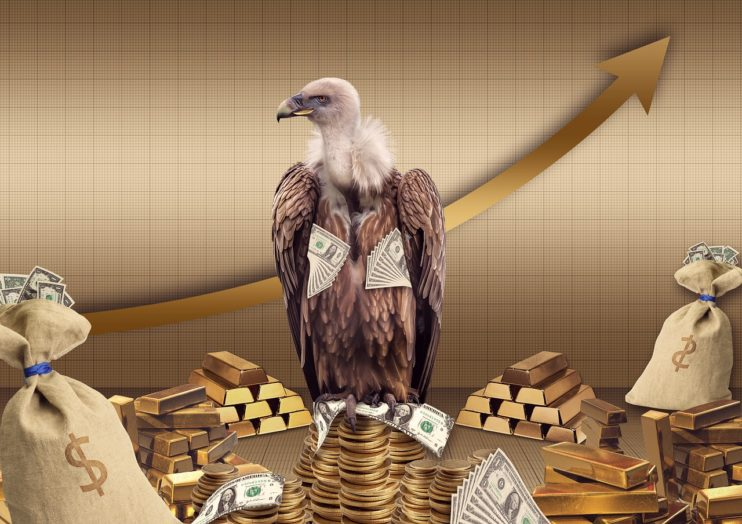 gier gierig geld dollars rijk superrijken