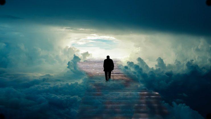 man trappen hemel oud abraham 50